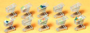 Preiser 17224 Einkaufswagen | 10 Stück | Spur H0 kaufen