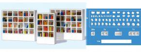 Preiser 17243 Bücher und Regale unbemalt Bausatz 1:87 kaufen