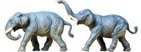 Preiser 20375 Elefanten | 2 Stück | Figuren Spur H0 kaufen