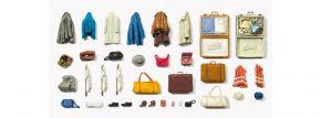 Preiser Kleidungsstücke, Warnwesten, Taschen Bausatz Spur G kaufen