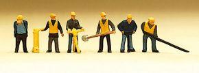 Preiser 79035 Gleisbautrupp | 6 Miniaturfiguren | Spur N kaufen