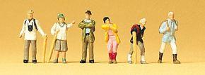 Preiser 79074 Wanderer | 6 Miniaturfiguren Spur N kaufen