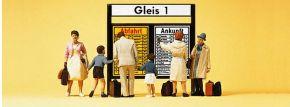 Preiser 79145 Reisende vor Fahrplantafel Figuren Spur N kaufen