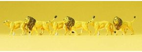 Preiser 79713 Löwen | 6 Miniaturfiguren | Spur N kaufen