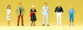 Preiser 80907 Passanten | Miniaturfiguren 1:200 | geeignet für Spur Z kaufen