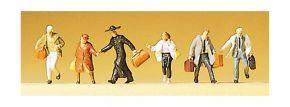 Preiser 88526 Laufende Reisende 6 Figuren Fertigmodell 1:220 kaufen