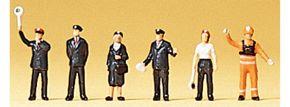 Preiser 88528 Bahnpersonal DB 1989 | 6 Stück | Figuren Spur Z kaufen