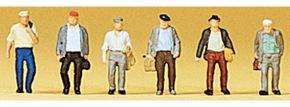 Preiser 88532 Pendler | 6 Stück | Figuren Spur Z kaufen