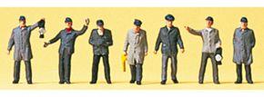 Preiser 88539 BW- und Rangierpersonal DB 6 Stück | Figuren Spur Z kaufen