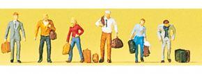 Preiser 88546 Gehende Reisende | 6 Miniaturfiguren | Spur Z kaufen