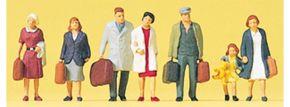 Preiser 88547 Reisende | 6 Stück | Figuren Spur Z kaufen