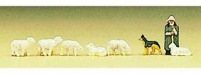 Preiser 88577 Schaefer und Schafe  Figuren Spur Z kaufen