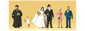 Preiser 79057 Brautpaar evangelisch und Geistlicher | Figuren Spur N 1:160 kaufen