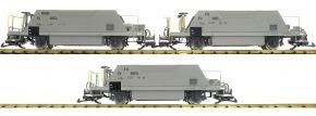 Pullman 36050 3-teiliges Set Schotterwagen Typ Fd | RhB | Spur G kaufen