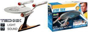 Revell 00454 Star Trek USS Enterprise NCC-1701 | Sound + Licht | Technik Bausatz 1:600 kaufen