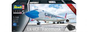 Revell 03836 Boeing 747-8F CARGOLUX Facemask | Limited Edt. | Flugzeug Bausatz 1:144 kaufen