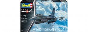 Revell 03844 Lockheed Martin F-16D Tigermeet 2014 | Flugzeug Bausatz 1:72 kaufen
