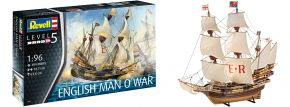 Revell 05429 English Man O'War | Schiff Bausatz 1:96 kaufen