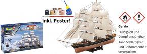 Revell 05430 Geschenk-Set Cutty Sark | 150th Anniversary | Schiff Bausatz 1:220 kaufen