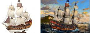 Revell 05605 Piratenschiff Karibik | Schiffsbausatz 1:72 kaufen