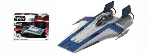 Revell 06773 Star Wars Build and Play Resistance A-Wing Fighter blau | Raumfahrt Bausatz 1:44 kaufen
