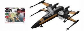 Revell 06777 Star Wars Build and Play Poes Boosted X-Wing Fighter | Raumfahrt Bausatz 1:78 kaufen