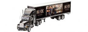 Revell 07453 Geschenk-Set AC/DC Tour Truck | Limitiert | LKW Bausatz 1:32