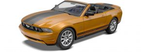 Revell 11963 Ford Mustang Convertible (2010) | Kunststoffmodell Auto Bausatz 1:25 kaufen