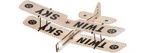 Revell 24314 Balsaholzflugzeug Twin Sky | Steckbausatz kaufen