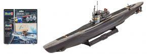 Revell 65154 Deutsches U-Boot Typ VII C/41 Model-Set | U-Boot Bausatz 1:350 kaufen