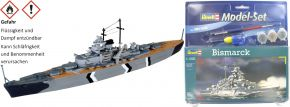 Revell 65802 Model Set Bismarck Schlachtschiff Bausatz 1:1200 kaufen