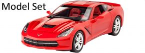 Revell 67060 Model-Set Corvette Stingray C7 (2014) | Auto Bausatz 1:25 kaufen