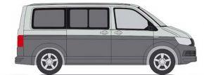 RIETZE 11660 VW T6 Bus reflexsilber indiumgrau Automodell 1:87 kaufen