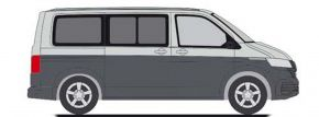 RIETZE 11670 VW T6.1 Bus reflexsilber indiumgrau Automodell 1:87 kaufen