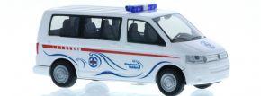 RIETZE 51925 VW T5 Bus 2003 Wasserrettung Velden Blaulichtmodell 1:87 kaufen