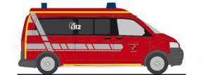 RIETZE 51928 VW T5 Bus Feuerwehr Karlstadt Blaulichtmodell 1:87 kaufen