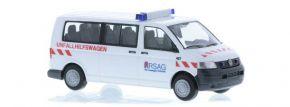 RIETZE 51938 VW T5 Bus Unfallhilfswagen Rostock Blaulichtmodell 1:87 kaufen