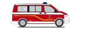RIETZE 51940 VW T5 Bus Feuerwehr Neustadt bei Coburg Blaulichtmodell 1:87 kaufen