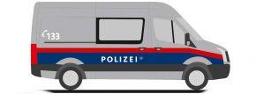 RIETZE 53115 VW Crafter Halbbus Polizei Österreich Blaulichtmodell 1:87 kaufen