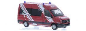 RIETZE 53119 VW Crafter Bus 2011 Feuerwehr Duisburg Blaulichtmodell 1:87 kaufen
