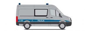 RIETZE 53128 VW Crafter Halbbus Policja Blaulichtmodell 1:87 kaufen