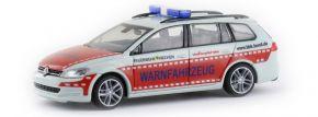 RIETZE 53312 VW Golf 7 Variant Feuerwehr  Frechen Blaulichtmodell 1:87 kaufen