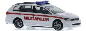 RIETZE 53316 VW Golf 7 Variant Militärpolizei Blaulichtmodell 1:87 kaufen