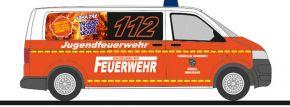 RIETZE 53448 VW T5 Bus 2010 Feuerwehr Künzell-Engelhelms Blaulichtmodell 1:87 kaufen