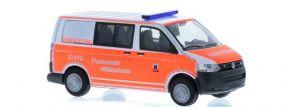RIETZE 53449 VW T5 Halbbus 2010 Feuerwehr Hildesheim Blaulichtmodell 1:87 kaufen