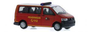 RIETZE 53453 VW T5 Bus 2010 Feuerwehr Salzgitter Blaulichtmodell 1:87 kaufen