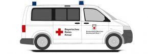 RIETZE 53459 VW T5 Bus 2010 BRK München West Blaulichtmodell 1:87 kaufen