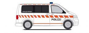 RIETZE 53461 VW T5 Bus Kantonspolizei Glarus Blaulichtmodell 1:87 kaufen