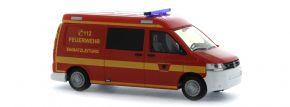 RIETZE 53631 VW T5 Halbbus Feuerwehr Lübeck Blaulichtmodell 1:87 kaufen