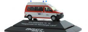 RIETZE 53632  VW T5 BRK Hospitmobil KV Nürnberger Land Blaulichtmodell 1:87 kaufen